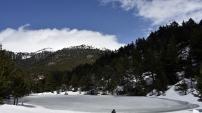 Limni gölünde sezon erken başladı, duyan eşsiz manzaraya koştu